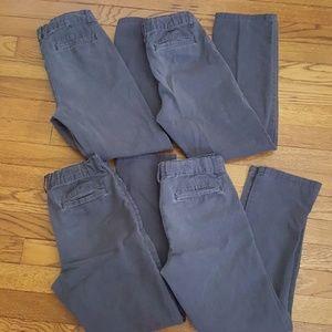 Children's Place Navy Khaki Pants Bundle